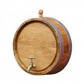 Зріз (торець) бочки декоративний (Ø до 30см.)