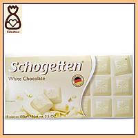Шоколадки Schogetten, 100г, Белый шоколад