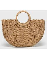 Соломенная сумка с ручками Сен-Лоран, Солом'яна сумка з ручками Сен-Лоран