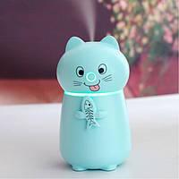 Увлажнитель воздуха humidifier Cat Blue, Зволожувач повітря humidifier Blue Cat, Увлажнитель воздуха