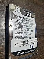 Жесткий диск 320GB HDD для ноутбука 2.5 Western Digital Black SATA II 7200rpm (WD3200BEKT) Как новый! №116