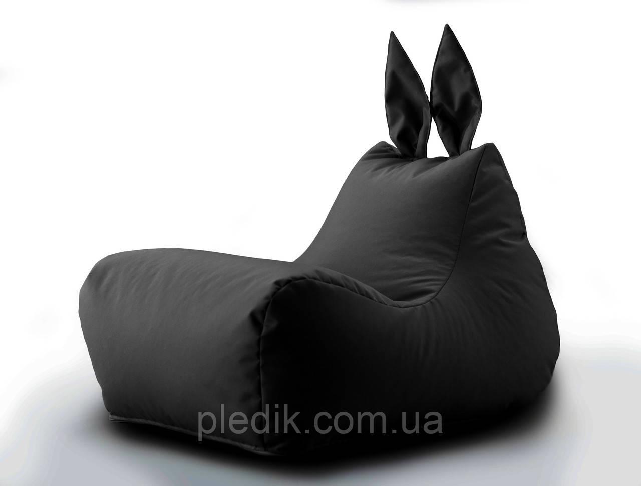 Крісло мішок Зайчик колір Чорний
