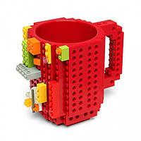 Кружка Lego брендовая 350мл Red, Кружка Lego брендовий 350мл Red, Оригинальные чашки и кружки