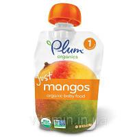 Детское пюре из манго, (Organic Baby Food), Plum Organics, 99 г