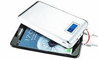 Power bank мощный аккумулятор 28800mAh с экраном и фонарем 162*80*23мм