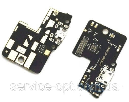 Шлейф Xiaomi Redmi S2 з роз'ємом зарядки і мікрофоном