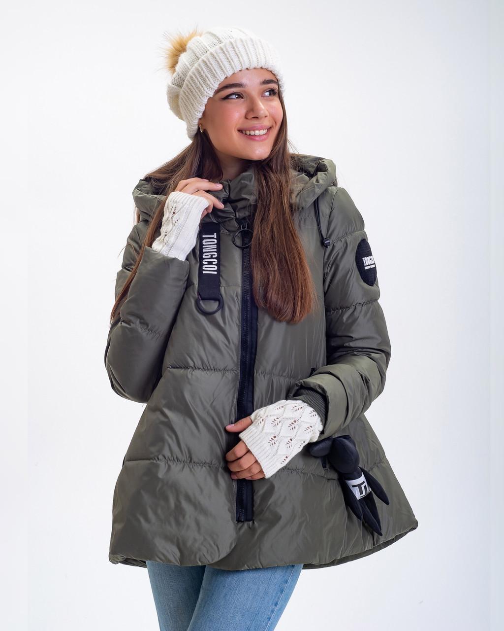 Зимняя Куртка Топ Стиль Oversize  Фабричный Китай Размеры в наличии