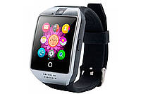Смарт-часы Smart Watch Q18 Black/Silver, фото 1