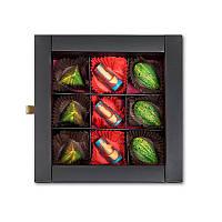 Авторский набор конфет Фруктово-сырная коллекция, 9 конфет