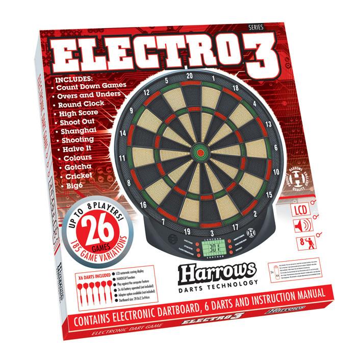 Фирменная мишень дартс электронная Electro Harrows