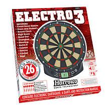 Фирменная мишень дартс электронная Electro Harrows, фото 2