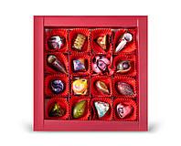 Фруктовая коллекция: 16 шоколадных конфет