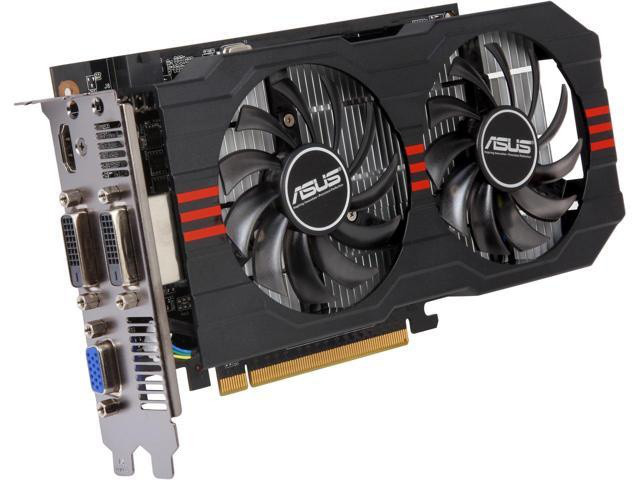 Видеокарта, ASUS GeForce GTX 750, 2 Гб, GDDR5