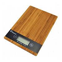"""Весы кухонные Domotec ACS KE-A, до 5 кг, точность 1 г, функция """"Тара"""", размер 23x16x2.4 см, весы бытоовые"""