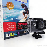 Экшн камера DVR SPORT A7, sport экшн видеокамера A7, 1080P, спорт камера A7, Водонепроницаемая крепление на руль и шлем