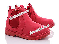 "Ботинки женские AI170404-14 red (8 пар р.36-41) ""Ailaifa"" LG-1486"