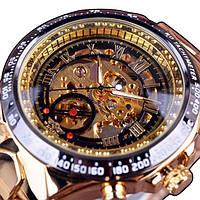 Мужские часы Mechanical Motivi gold