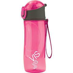 Пляшечка для води VIS, 530 мл, рожева vis19-400-02 Kite