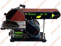 Шлифовальный станок (Ленточно-дисковый) Титан  KSM400
