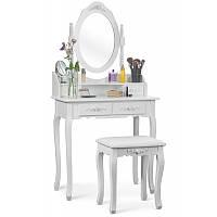 Косметичний стіл з дзеркалом і стулом Massido GLAMOUR (C 4 ), фото 1