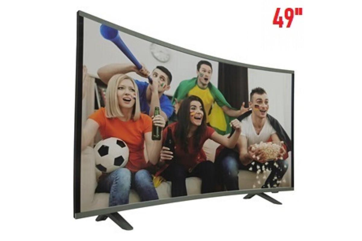 "Телевизор COMER 49"" Smart (E49DU1000) Изогнутый"