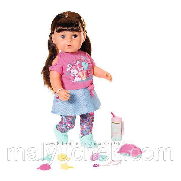 Кукла Baby Born  Нежные объятия Стильная сестричка  43 см  Zapf 827185