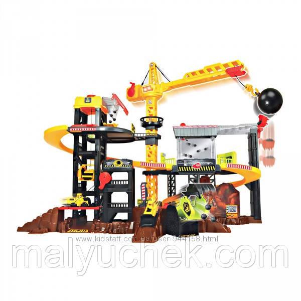 Набор Dickie toys Construction Строительная площадка со светом и звуком 3729010