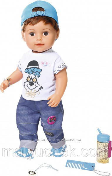 Кукла Baby Born Нежные объятия Стильный братик Zapf 826911