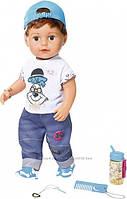 Кукла Baby Born Нежные объятия Стильный братик Zapf 826911, фото 1