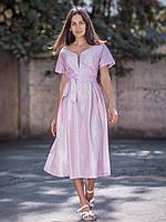 Вечерное платье большого размера с коротким рукавчиком (XXL)
