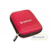 Чехол для внешнего жесткого HDD / SSD диска размером 2.5 - HDD Case, Цвет чехла orico малиновый