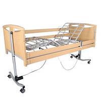 """Акционный комплект! Кровать деревянная с электромотором """"French Bed"""" с поручнями и гусаком + матрас"""