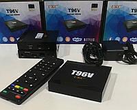 Медиаплеер приставка Android TV SMART TV T96V 2gb\16gb S905W+BT, Андроид приставка ТВ c Ethernet, Wi-Fi