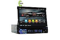 Автомагнитола 1DIN DVD-9501 Android GPS с выезжающим экраном |  магнитола автомобильная, фото 1