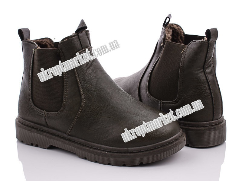 "Ботинки женские AI1700404-14 green (8 пар р.36-41) ""Ailaifa"" LG-1486"