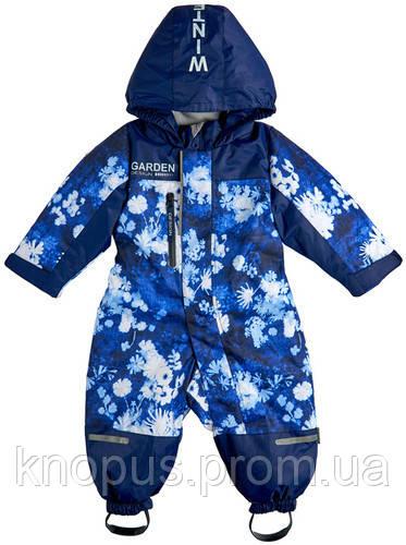 Комбинезон детский флисовой подкладкой,   Garden baby. Размеры 80 - 98