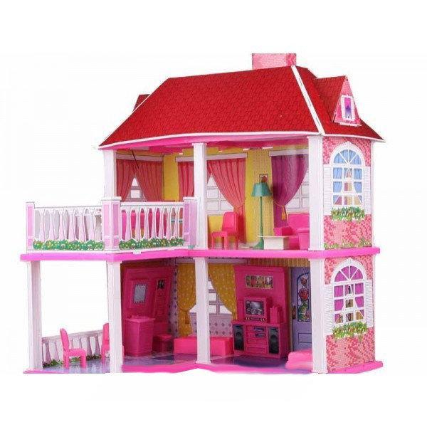 Кукольный домик для Барби My lovely villa с аксессуарами