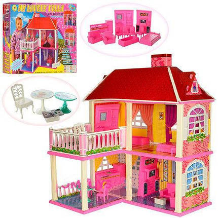 Кукольный домик для Барби My lovely villa с аксессуарами ...
