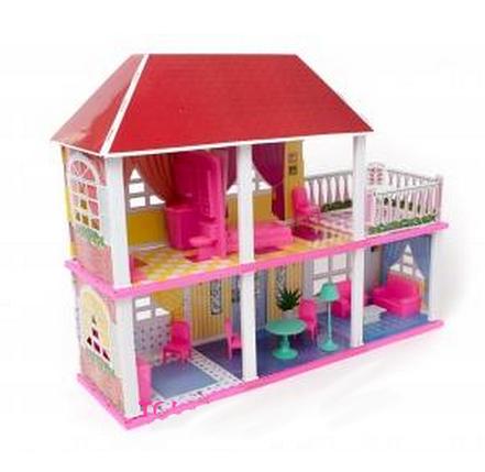 Кукольный домик для Барби My lovely villa с аксессуарами, фото 2
