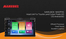 Штатная магнитола Marubox 9A107PX5 Toyota Prado 120 4Gb/32Gb 2019 Android 8,0 PX5
