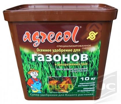 Осеннее удобрение для газона 10 кг
