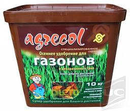 Удобрение 9 кг осеннее для газона Agrecol