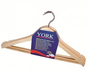 Плечики York  3 штуки дерево (067510)