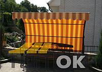 Тенты на кованные конструкции