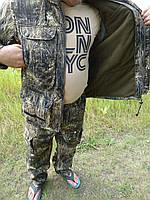 """Демисезонный камуфляжный костюм   дюспобондинг  повышенной плотности  """"суслик в  траве"""""""