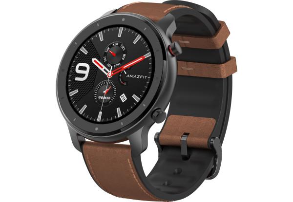 Умные часы Smart Watch Xiaomi Amazfit GTR 47mm Black Aluminum alloy