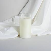 Электронная свеча с имитацией пламени в стекле