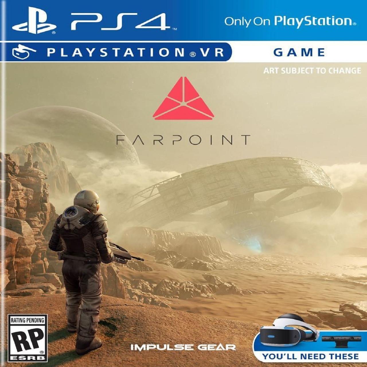 Farpoint VR PS4 RUS (NEW)