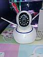 Камера Видеонаблюдения Смарт-WiFi IP камера 3-антенна PTZ 1080P. Видеоняня, фото 4
