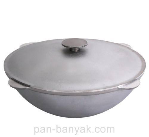 Казан татарский Биол  22л d50 см h23,4 см литой алюминий (КТ2200)